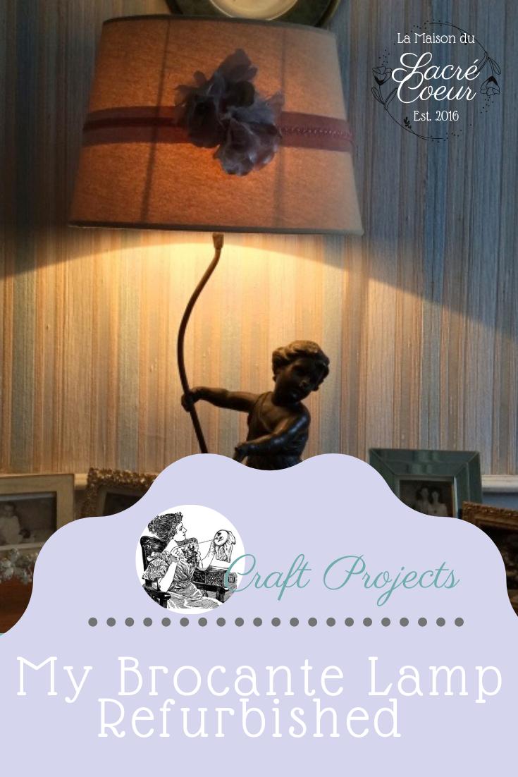 My Brocante Lamp Refurbished