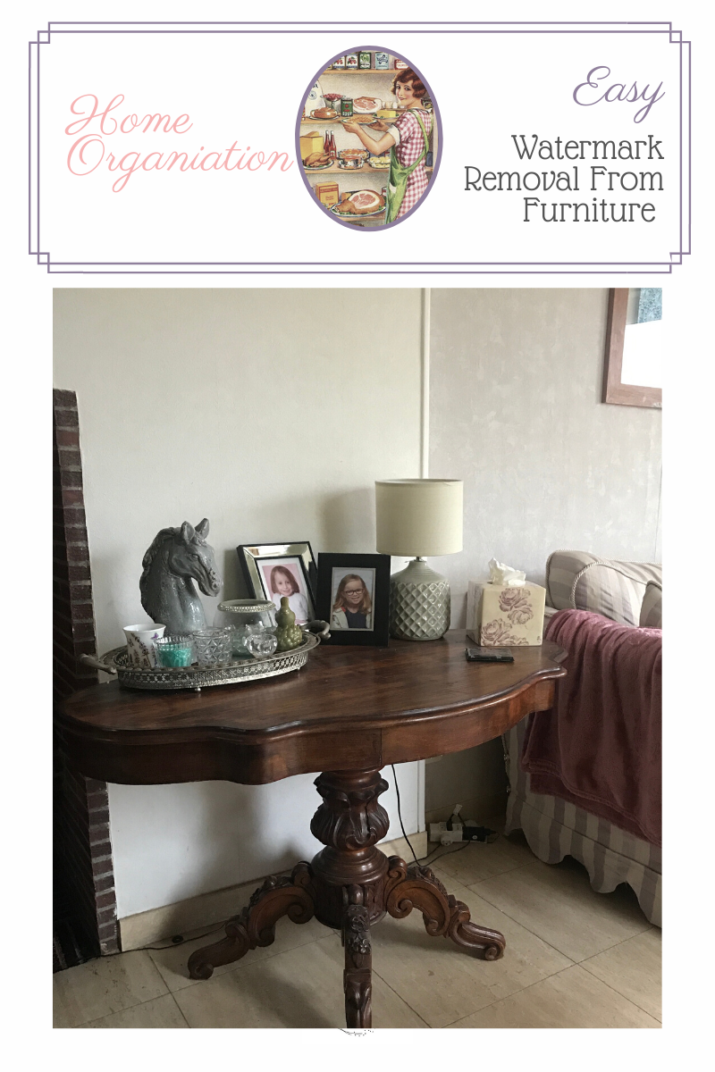 easy watermark removal from furniture