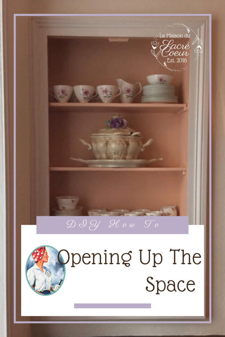 opening up the space