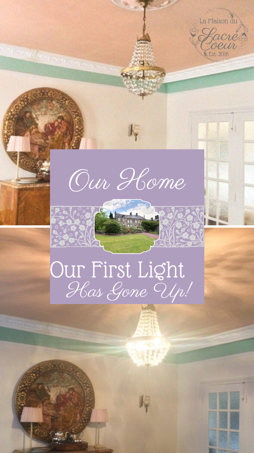 Our first light