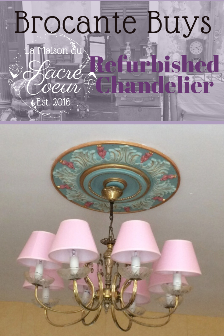 Refurbished Chandelier