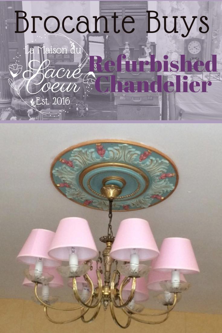 Refurbished Chandelier