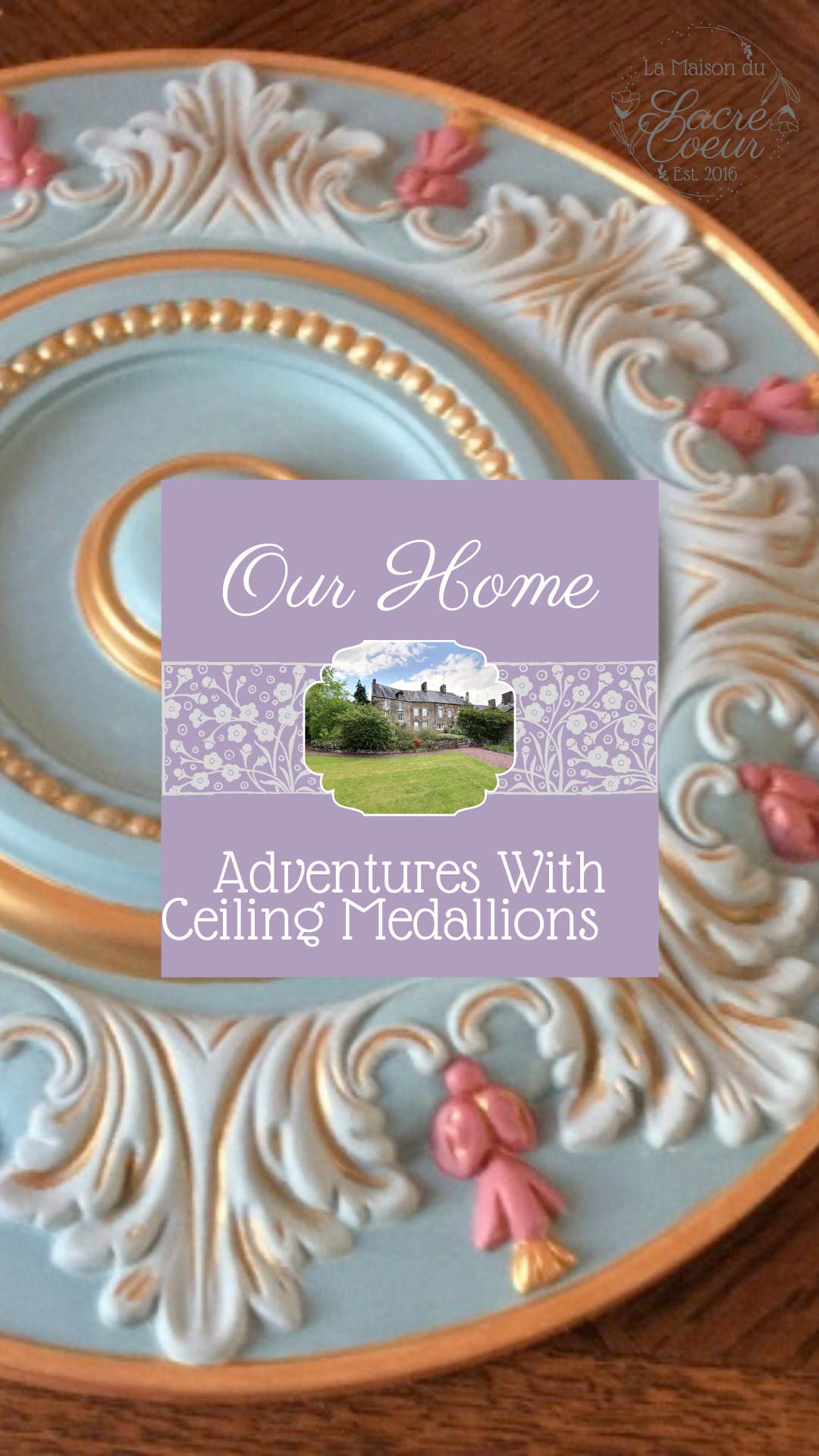 Adventures with ceiling medallions