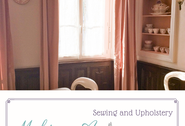 Making a Double Curtain Pole Valance