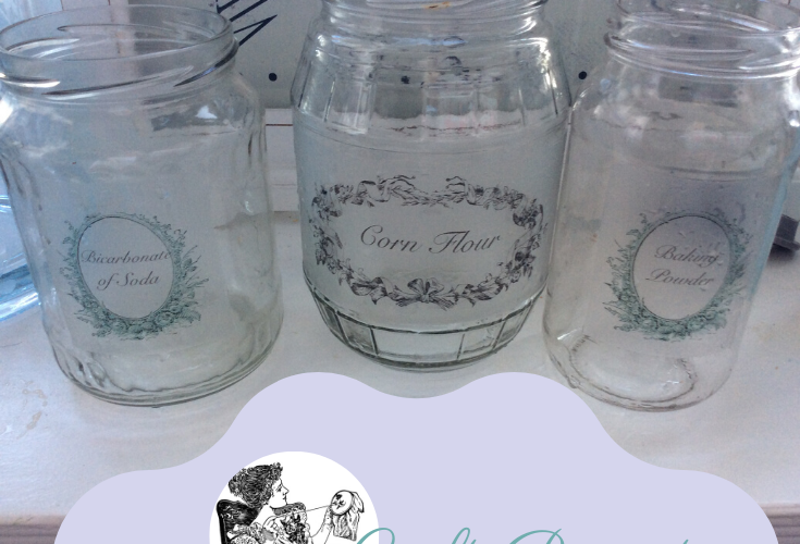 Recycled Jars For Food Storage