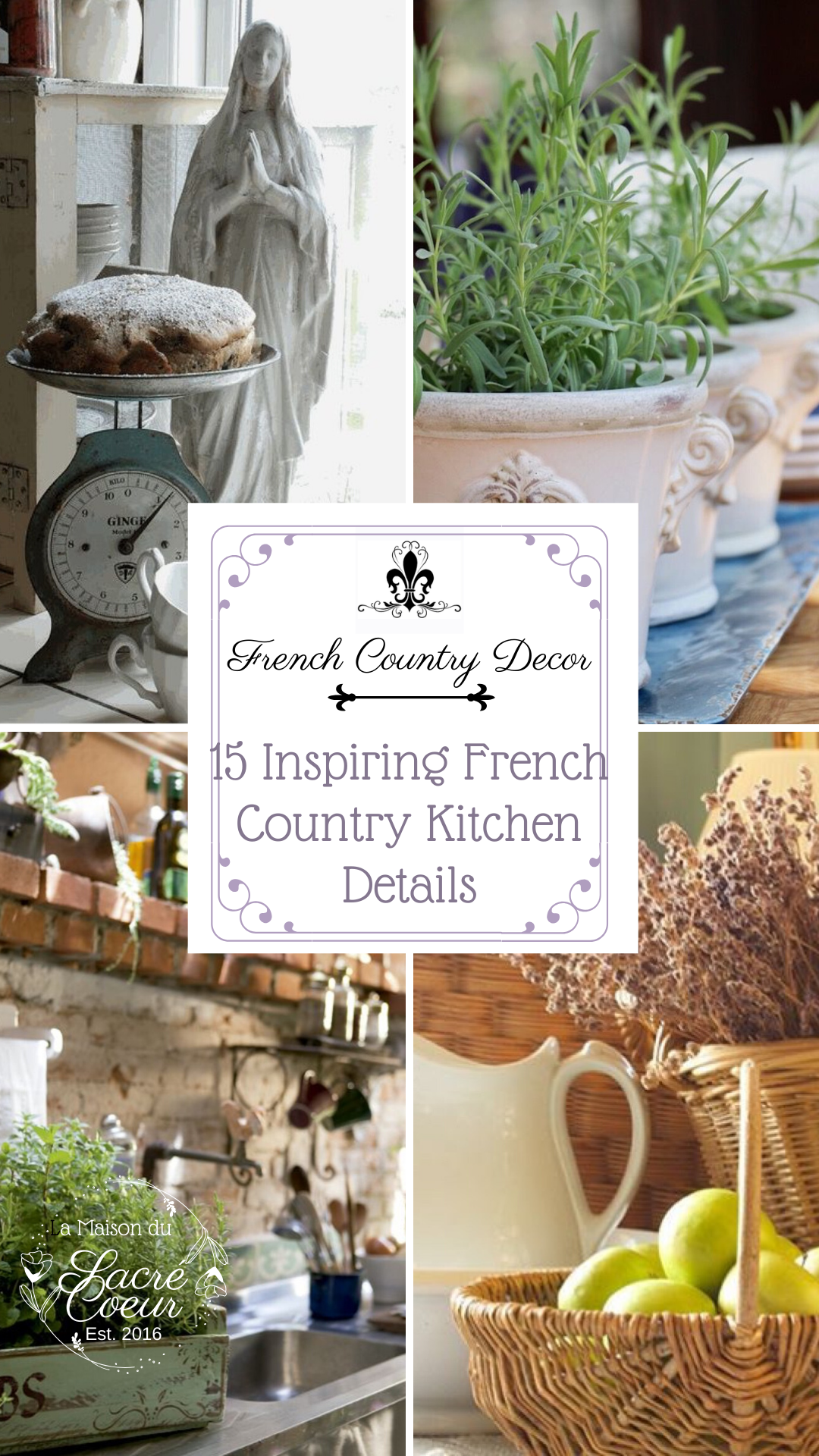 15 Inspiring French Country Kitchen Details