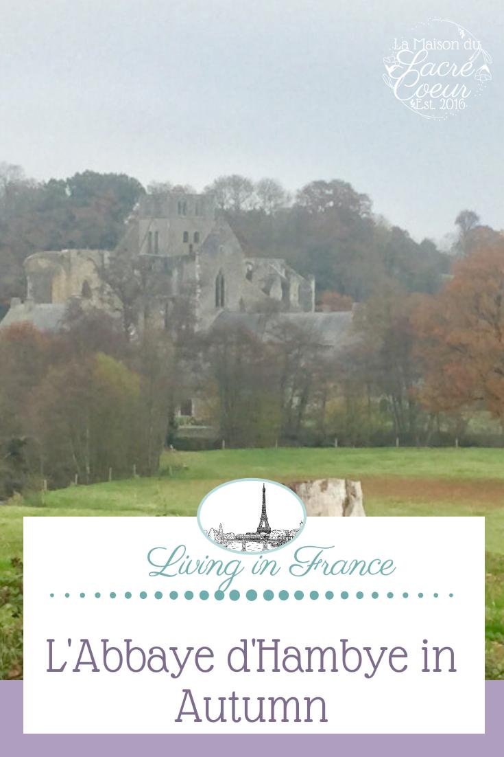 L'Abbaye d'Hambye in Autumn