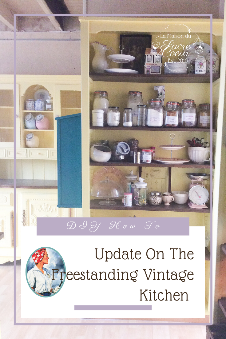 Update On The Freestanding Vintage Kitchen