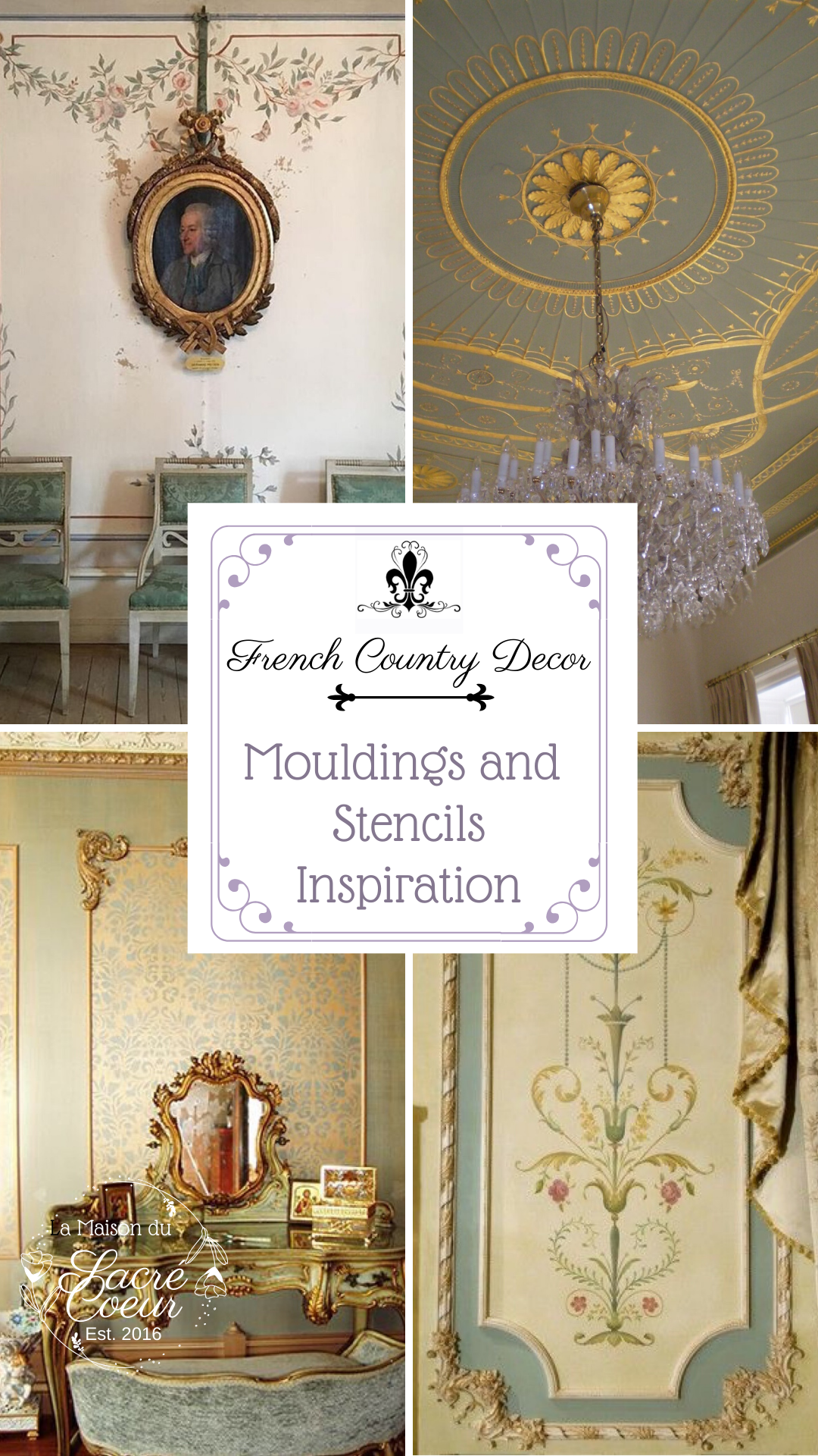 Mouldings and Stencils Inspiration