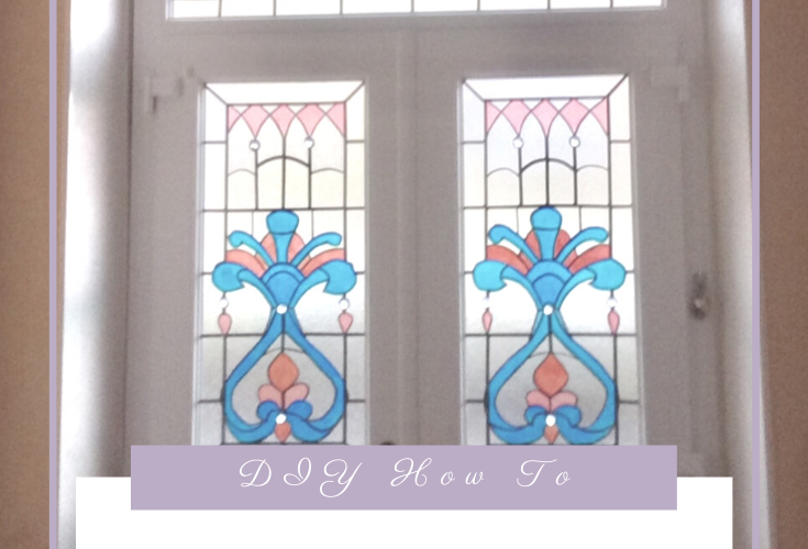 How to Art NouFaux Stained Glass