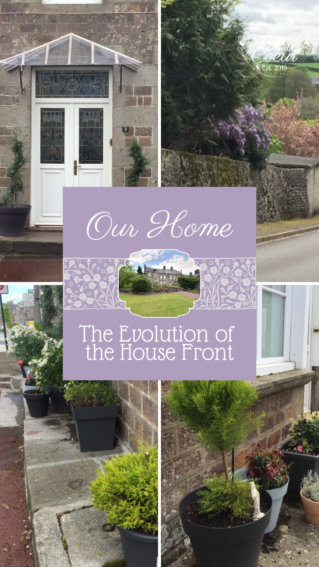 The Evolution of the House Front