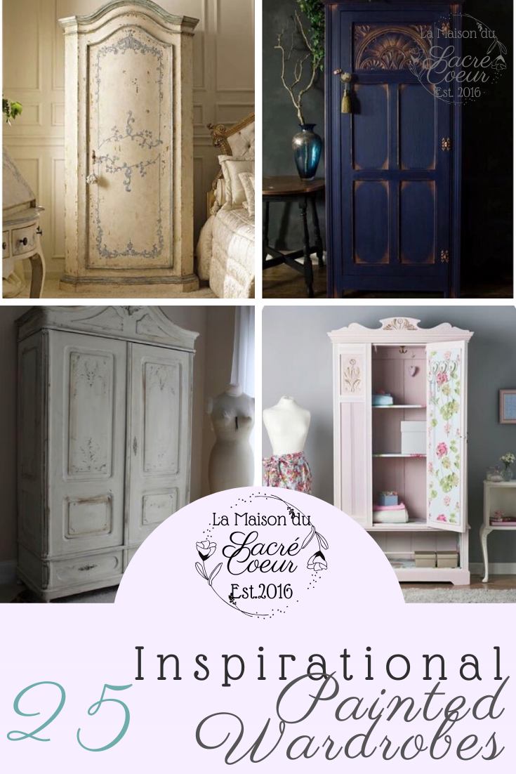 25 painted wardrobes