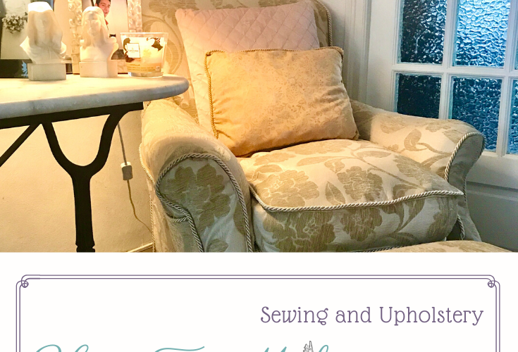 How to make a structured chair cover