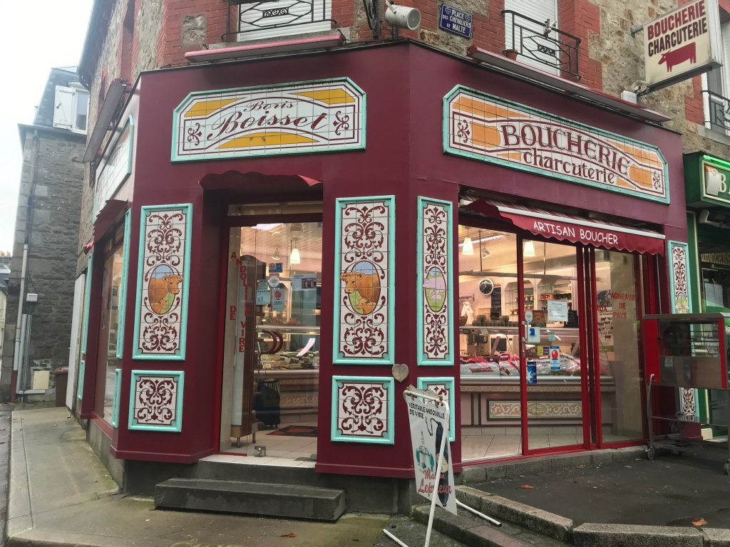 French butchers shop